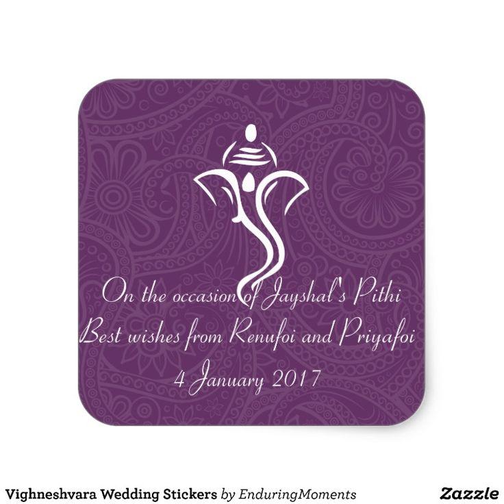 Vighneshvara Wedding Stickers