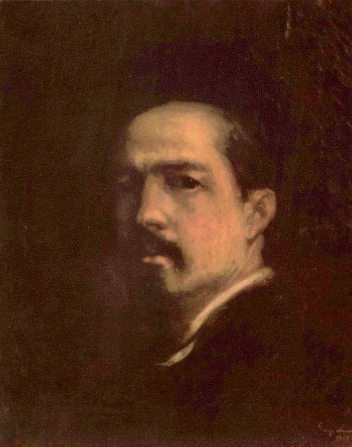 Nicolae Grigorescu - Autoportret 1868