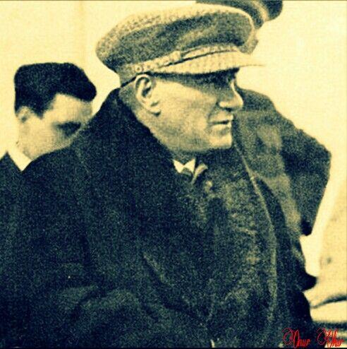 Mustafa Kemal Atatürk - Fethiye, Ege Vapuru (1931)