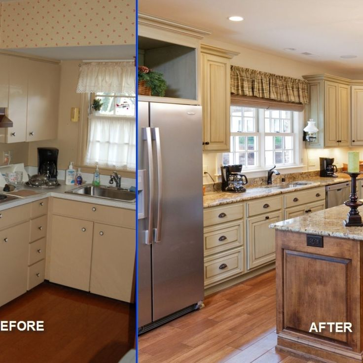 Galley Kitchen Remodels Before And After: Small Kitchen Remodeling Ideas Before And After
