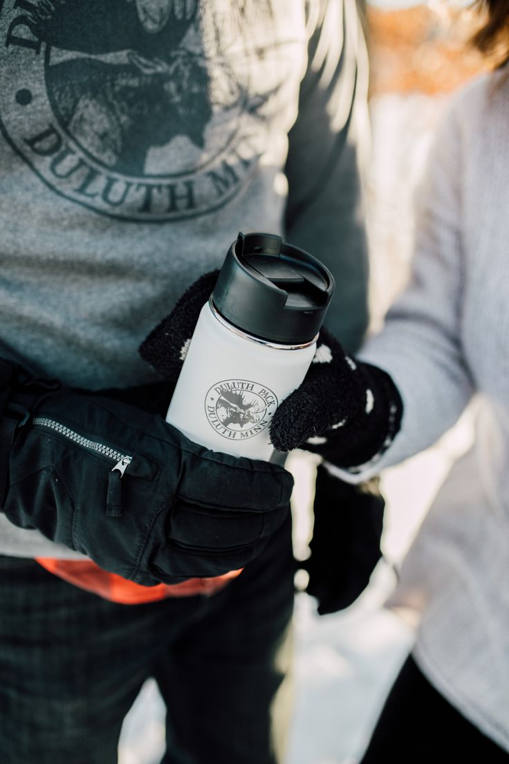 | www.duluthpack.com |  Keep your beverages warm all day with the Duluth Pack Hydro Flask.