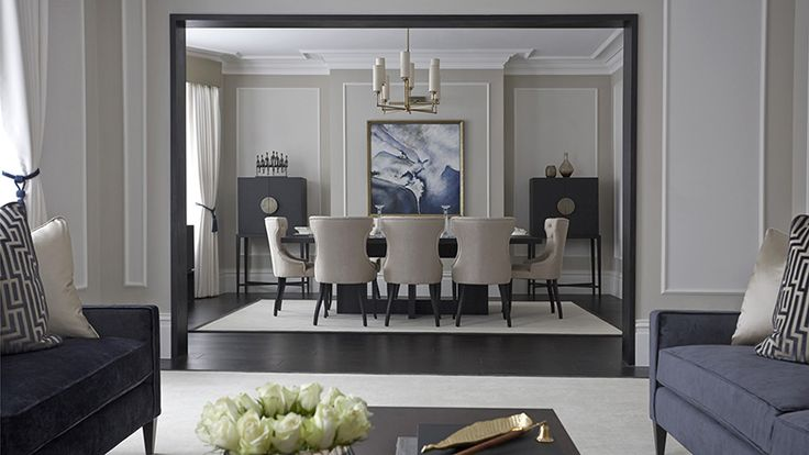 Les 37 meilleures images du tableau salle a manger moderne for High end interior designers london