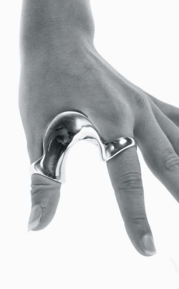 Silver | 銀 | Plata | Gin | Argento | Cеребро | Agent | Colour | Texture | Pattern | Style | Design | Betony Vernon | Petting Ring