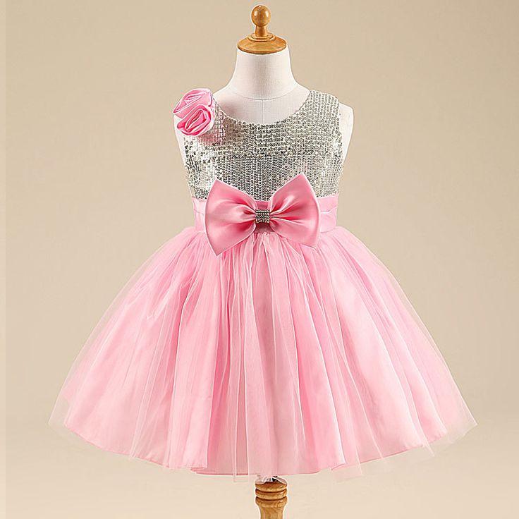 Como hacer vestidos de fiesta para niñas | ropa niña | Pinterest ...