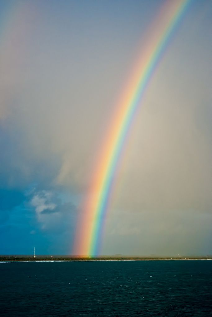 ☕☕Beautiful rainbow...a sign in the sky of a promise God made to us!