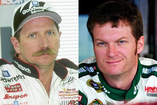 Dale Earnhardt Sr. and Jr. (NASCAR)—Now