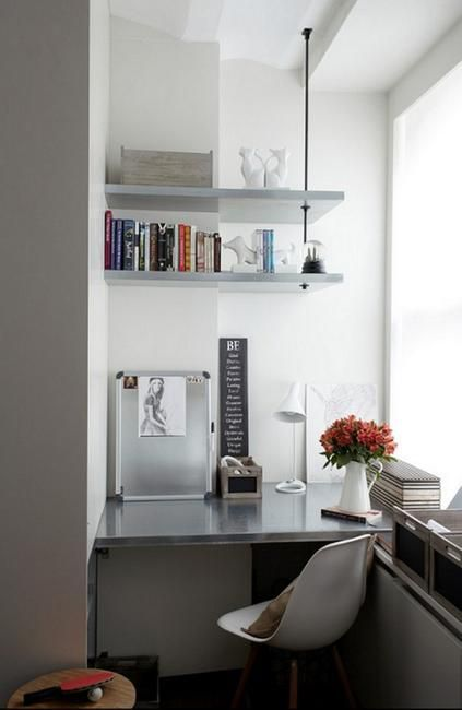 design ideas for balcony office organization and furniture placement