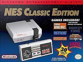 nintendo entertainment system: nes classic edition mini free usps priority ship! from $129.99