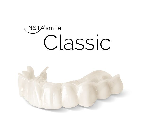 INSTAsmile is an affordable, convenient alternative to traditional dental treatment. The perfect solution for covering chipped, discolored, crooked or missing teeth, instantly.