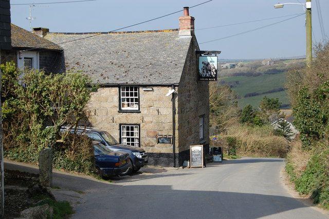 Logan Rock Pub - Cornwall, UK
