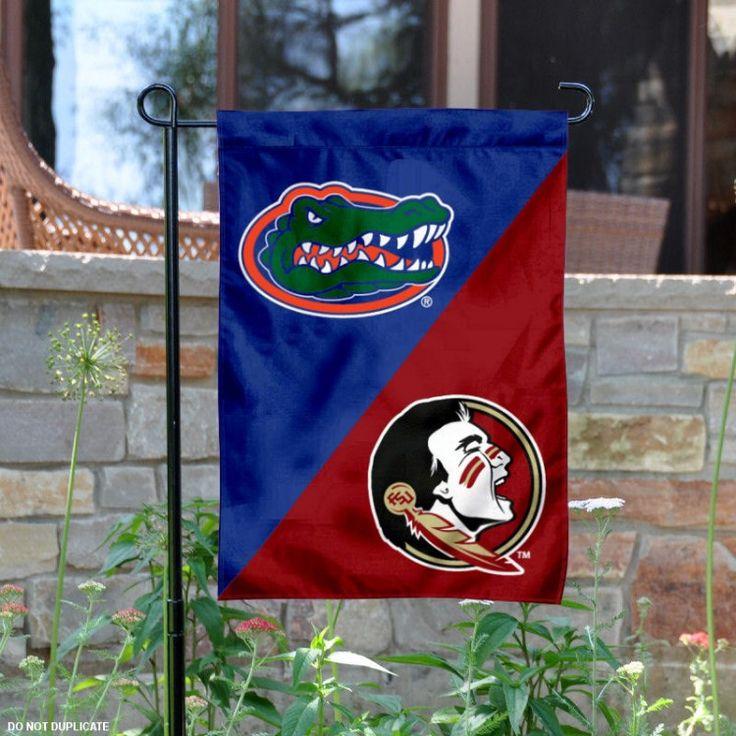 FSU vs. UF House Divided Garden Flag your FSU vs. UF House Divided ...
