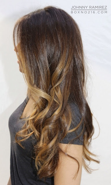 highlights, but in blonde!