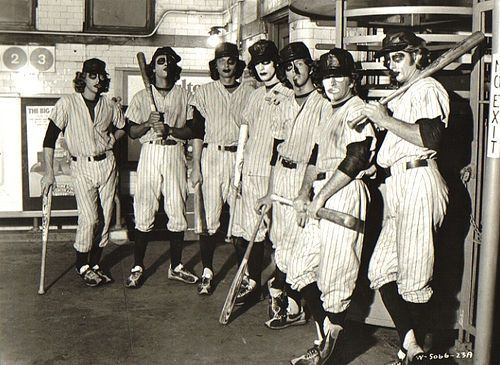 The Baseball Furies from The Warriors (1979)