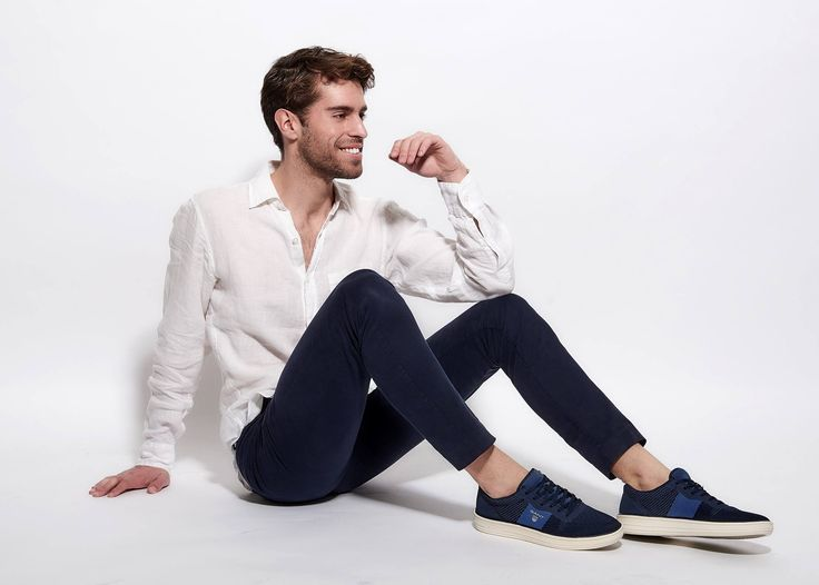 Blue #GANT sneakers!