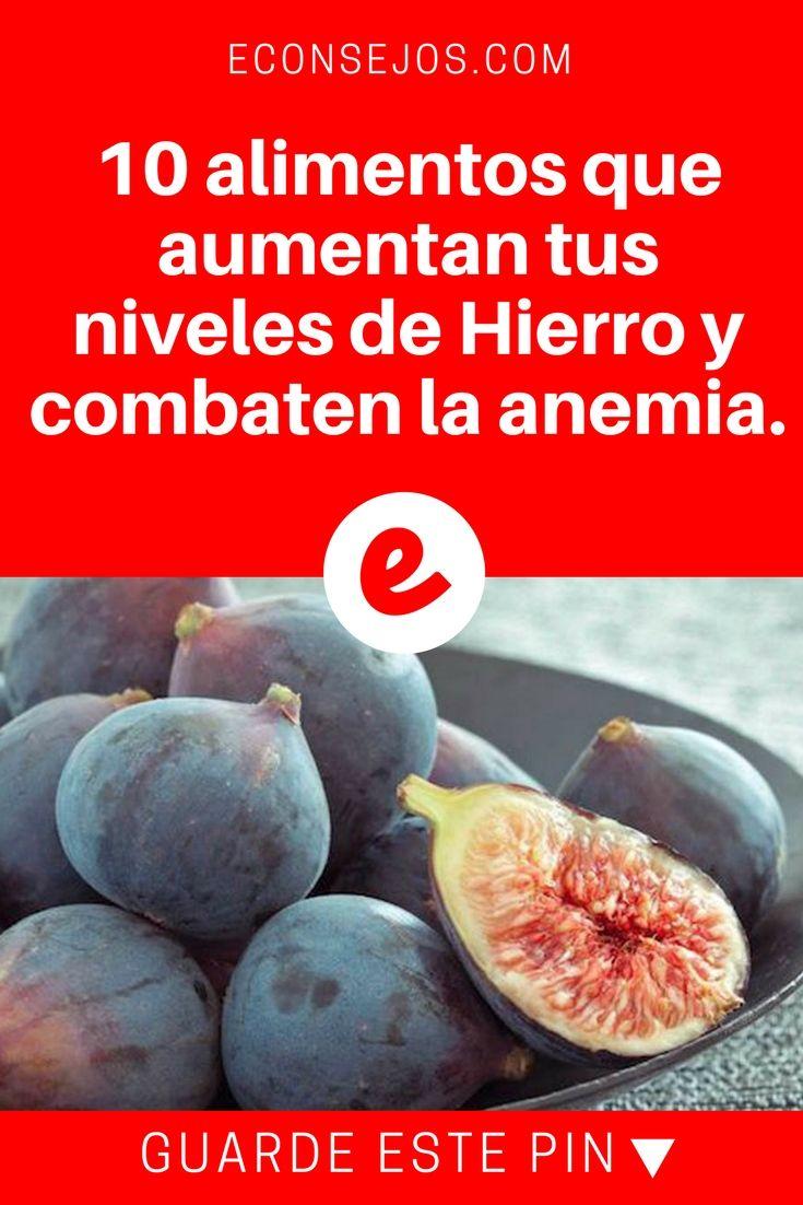 Alimentos para combatir la anemia | 10 alimentos que aumentan tus niveles de Hierro y combaten la anemia. | 10 alimentos que aumentan tus niveles de Hierro y combaten la anemia.
