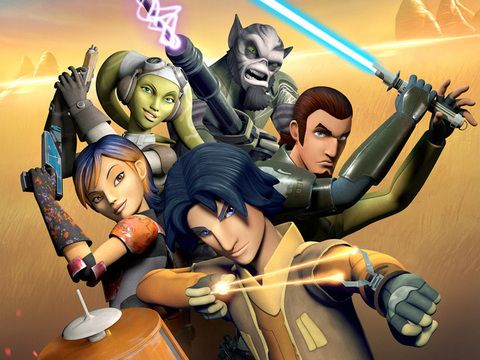 Star Wars Rebels characters