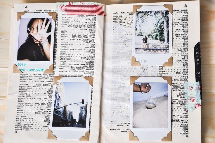 diy instax album -- super cute! and easy! loving this idea.