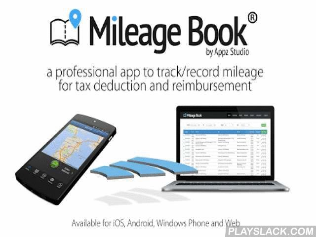 Mileage Book  Android App - playslack.com ,  Professional mileage trackingThe Mileage Book is a simple and timesaving solution for individuals and small and large companies. Every day, more than 30,000 users use the Mileage Book app on the road, and it meets a variety of needs. Mileage registration is required by the TAX authorities in many countries for documentation of business trips, driving in a company car, and documentation of mileage in a private vehicle. Every month, the Mileage Book…