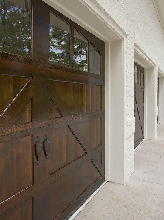 barn door garage doors-- looks better then the metal ones!