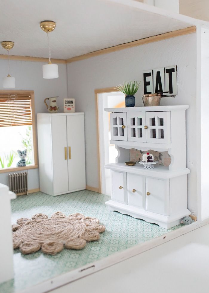 Thoughts from Alice: Dollhouse Kitchen Reveal