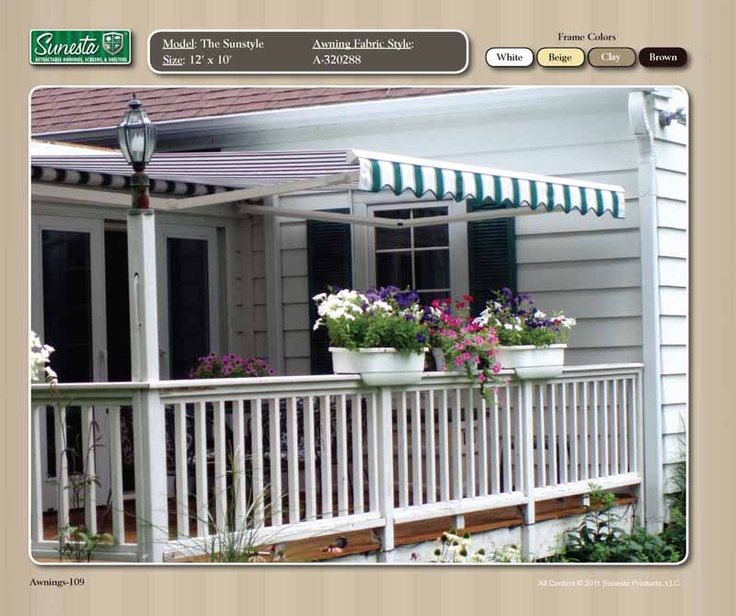 350 Best Awnings Images On Pinterest Outdoor Spaces