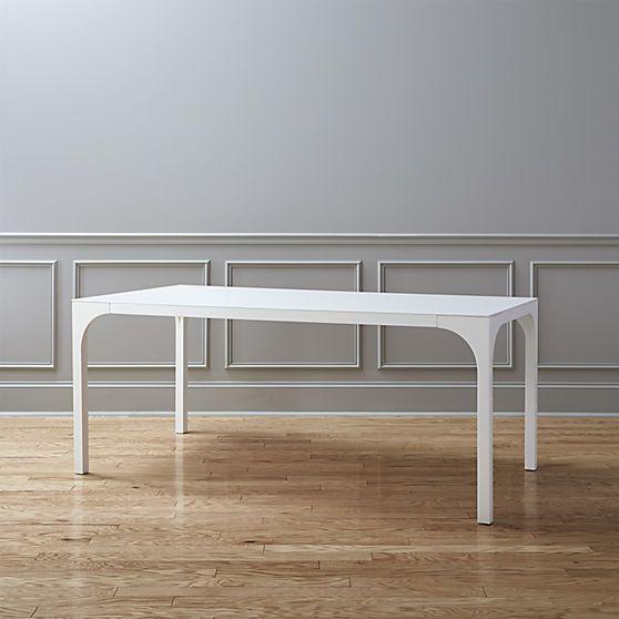 aqua virgo dining table | CB2