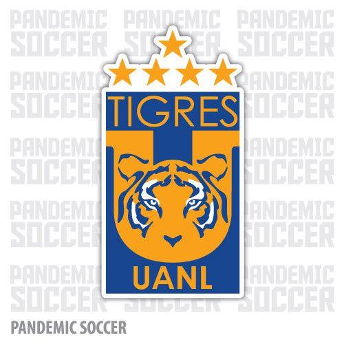 Tigres UANL Futbol Mexico Vinyl Sticker Decal Calcomania
