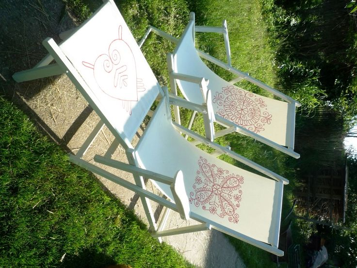 Nyugágy új bőrben / Deck chair