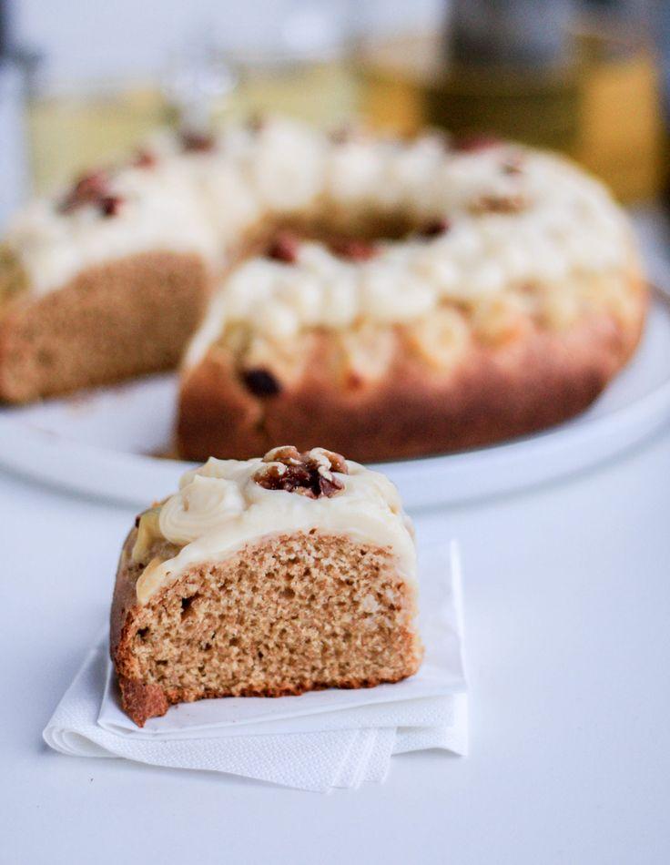 Una receta de rosca de reyes saludable, rica y fácil de preparar? Acá está! Rosca de reyes integral, sin manteca y endulzada con stevia y azúcar orgánico.