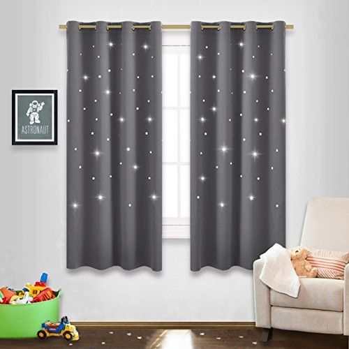 Stars Kids Room Curtains Naptime Essential Nursery Window Curtains Room Bedroom #NICETOWN