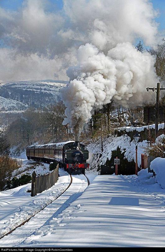 Llangollen Railway,  Denbighshire, Wales