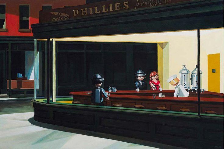 Playmobil Art