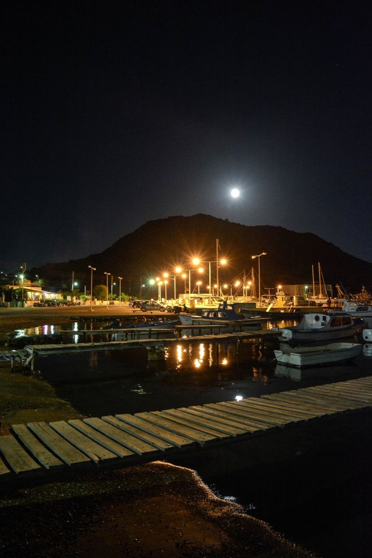 Marina of Skala, Patmos, Greece