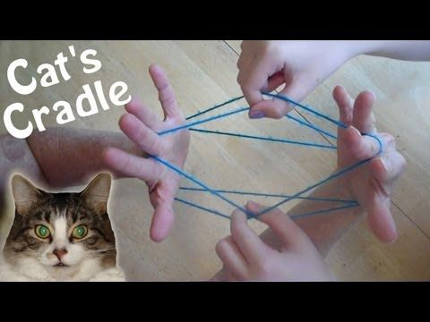 ▶ How to do Cats Cradle EASY! Step by step, with string - YouTube