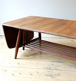 Ercol Extendible Coffee Table. Retro FurnitureClassic ...