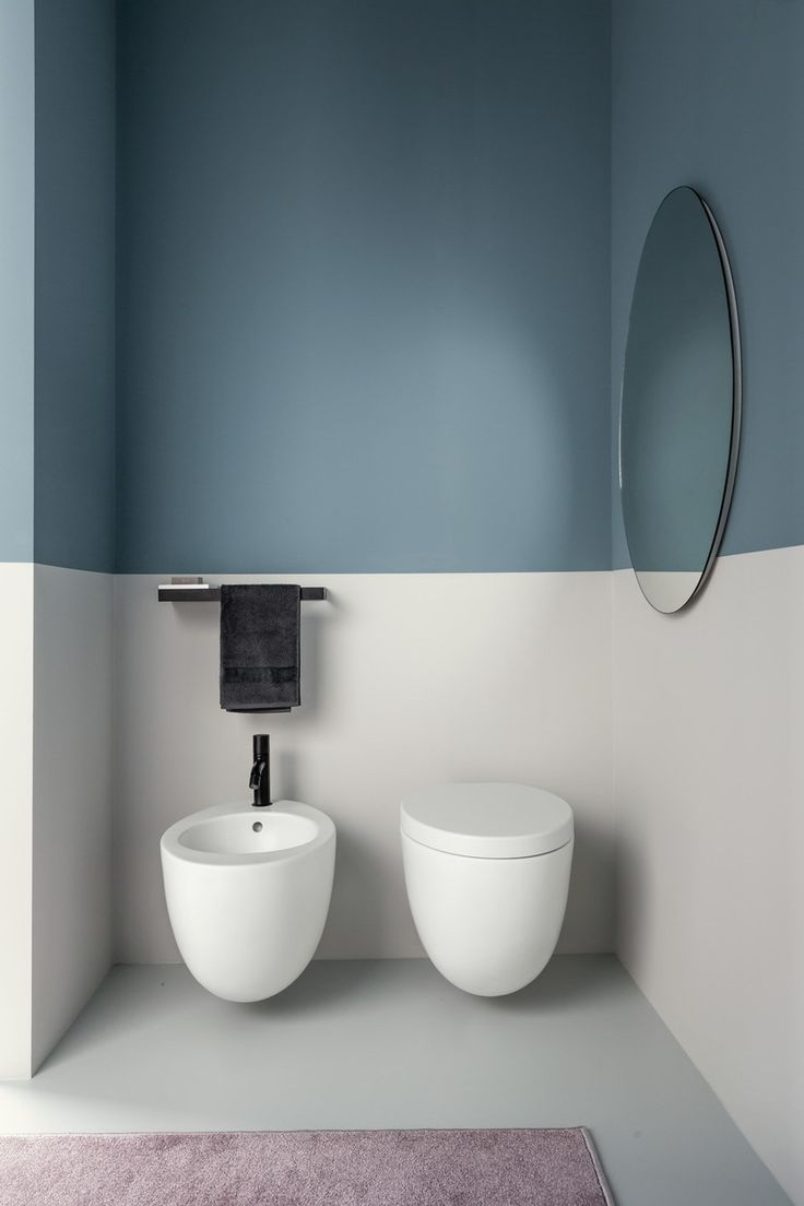 Wc Suspendu En Ceramique Le Giare Modernes Badezimmer Bad Deko Wohnung Badezimmer Dekoration