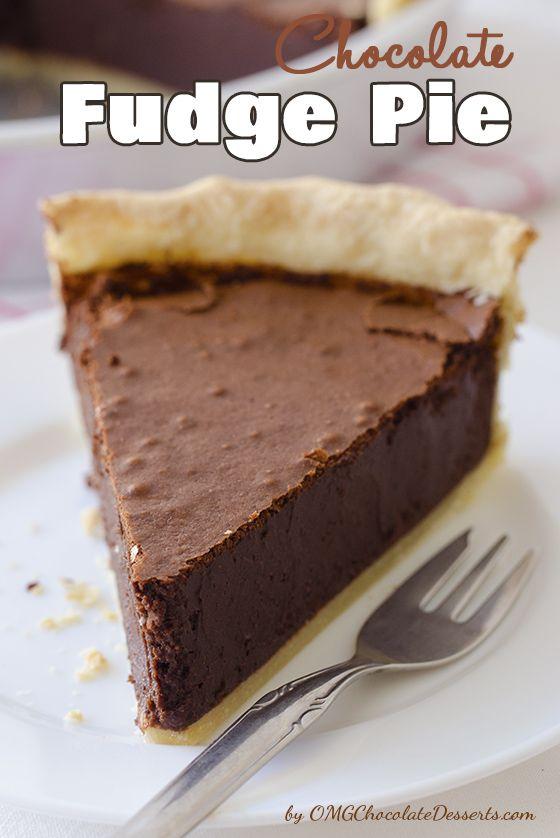Chocolate Fudge Pie