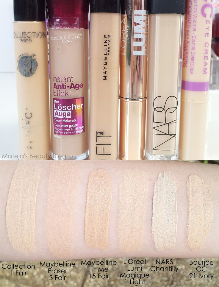 Mateja's Beauty Blog: Maybelline Fit Me Concealer 15 Fair