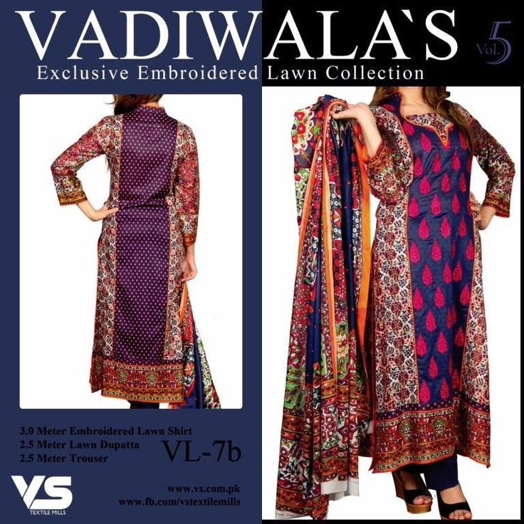 """""""Fabulous ethnic"""" <3 <3 Code: fabe vlnavy Price:3250/- Material: Unstitched/cotton/lawn dupatta. For booking and further details pls call or whatsapp us at +919600639563 Happy shopping y'all :) Be Beautiful :)"""