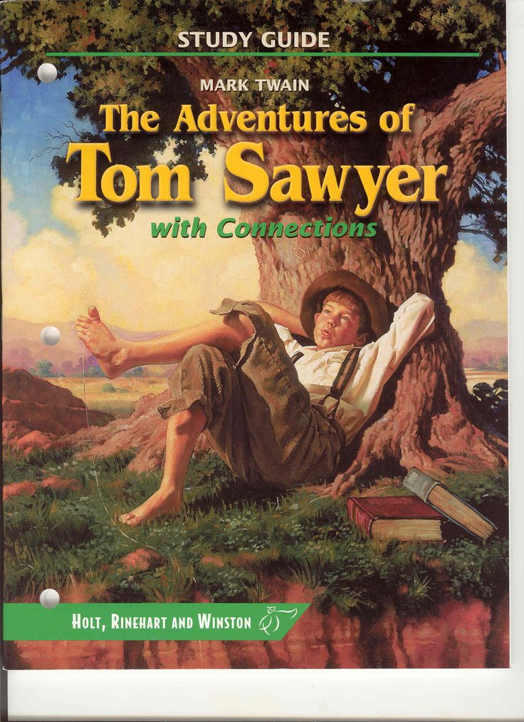 Interactive Read Aloud: The Adventures of Tom Sawyer by Mark Twain is a fictional children's book. There are a few themes which pertain to cleverness, creativity, manners, friendship and imagination. This book is at a sixth grade reading level.