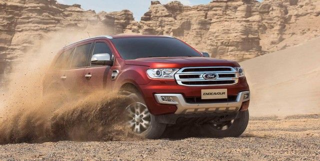 2017 Ford Endeavour Changes