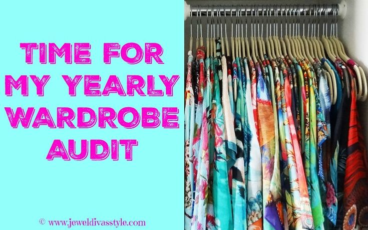 JDS - Time to talk about clothing and accessories. I did my yearly audit and here are the results. CLOTHING: 531 pieces in total. 23 new pieces for 2016 - http://jeweldivasstyle.com/my-yearly-clothing-accessory-and-jewellery-audit/