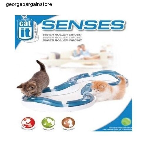 Brand New Catit Design Senses Super Roller Circuit Toy for Cats Kitten Play Game