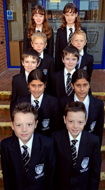 Double lessons! Five sets of identical twins start secondary school in the same year group   Mail Online