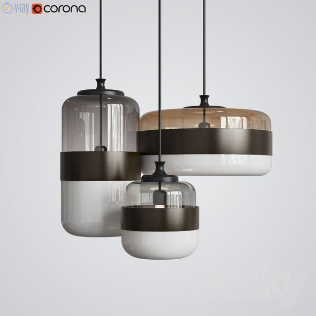 3d Models Ceiling Light Futura Pendant Vistosi Interieur