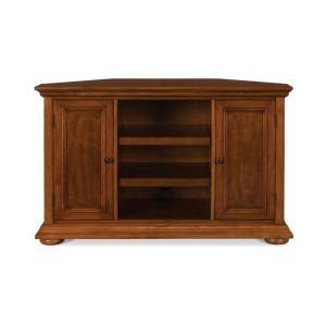 Best Homestead Distressed Warm Oak Corner Tv Stand 5527 07 At 400 x 300