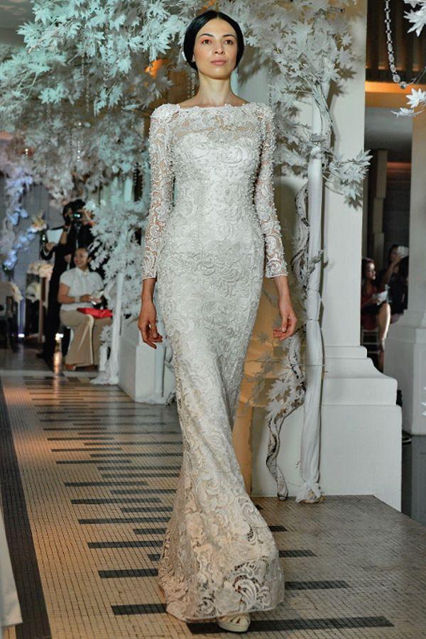 Alia bastamam of malaysia bridal 2013 12 bridal for Wedding dress malaysia online