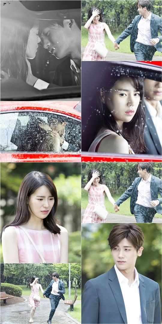 'High Society' has unveiled the still images of Hyung Sik and Lim Ji-yeon's rain kiss scene @ HanCinema :: The Korean Movie and Drama Database