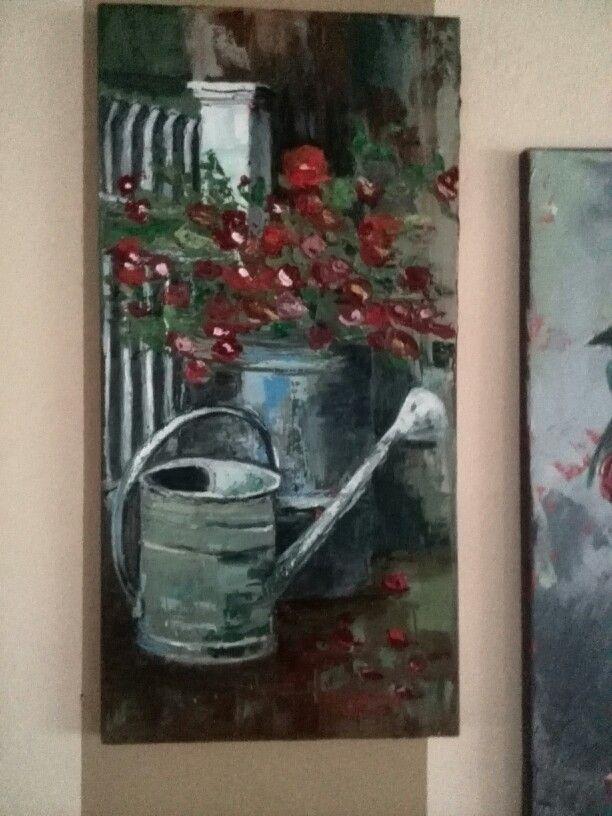 Jemima's art work in Nov 2014.