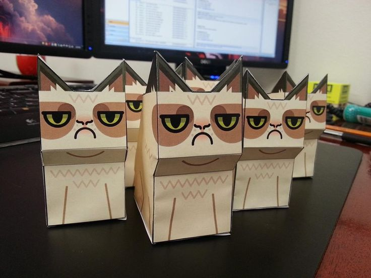 MAKE ME GRUMPY CAT GIFTS BAGS, MINIONS
